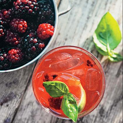 Refrigerator Pickled Blackberries