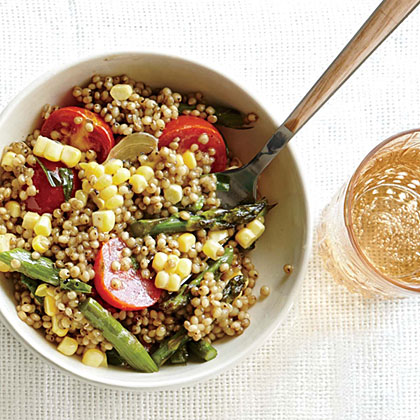 <p>Sorghum with Summer Corn, Tomatoes, and Tarragon</p>