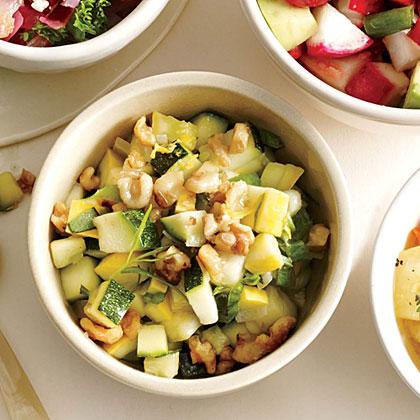 <p>Summer Squash and Zucchini Salsa</p>