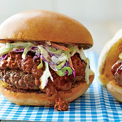 Sloppy Joe Carolina-Style Burgers