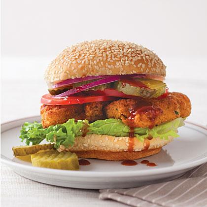 Crispy Chicken Sandwiches