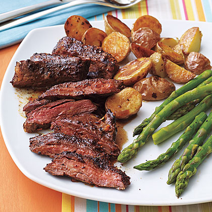 Coffee Rubbed Skirt Steak Recipe Myrecipes