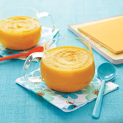 Carrot, Ginger and Apple Soup