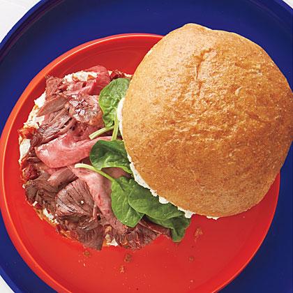 Provencal Beef Sandwich