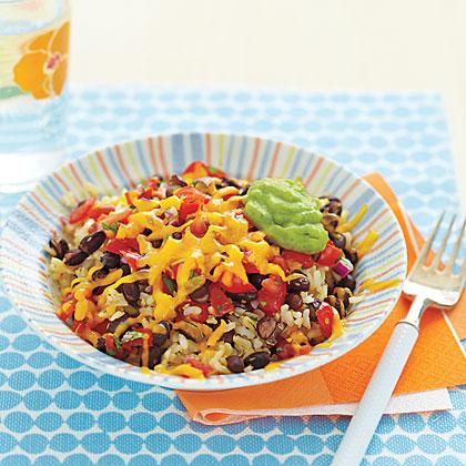 <p>Rice and Bean Bowl</p>