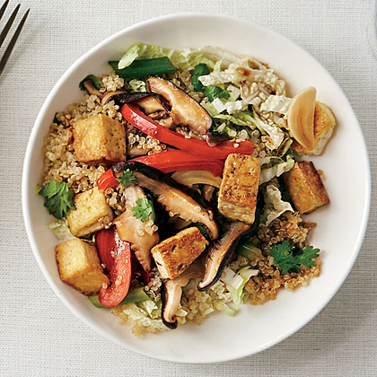 Asian stir fry quinoa bowl recipe myrecipes asian stir fry quinoa bowl forumfinder Gallery