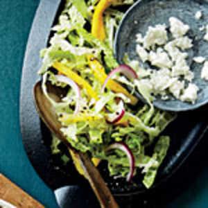 Cabbage and Mango Slaw