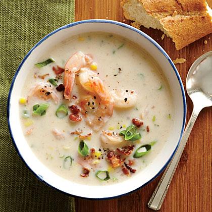 recipe: corn and shrimp soup recipe easy [26]