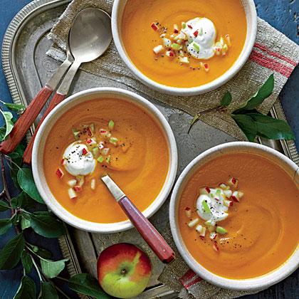 Carrot-Apple Soup