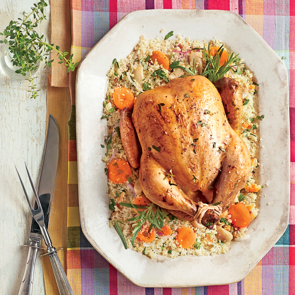 <p>Slow-Cooker Chicken with 40 Cloves of Garlic</p>