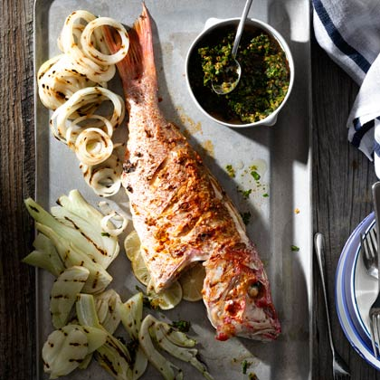 <p>Whole Fish with Chermoula</p>