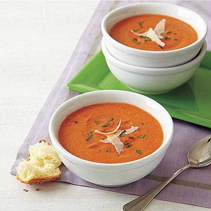 <p>Creamy Tomato Soup</p>