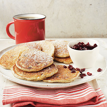 Oatmeal-Cranberry Pancakes