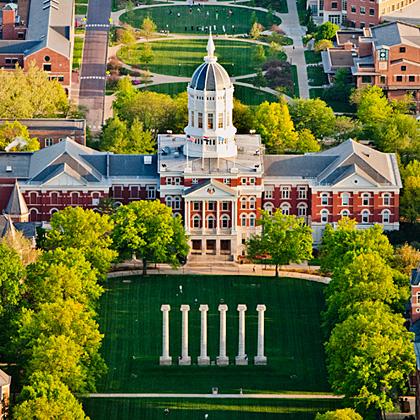 <p>University of Missouri - The Columuns</p>