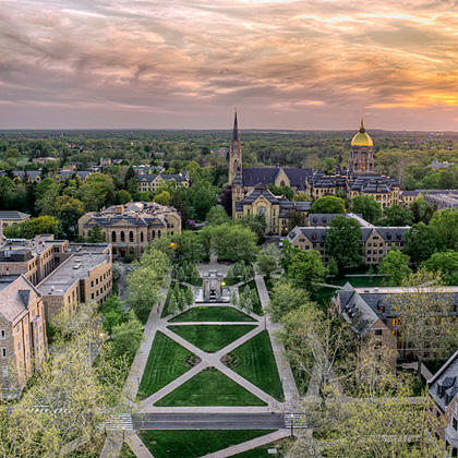 <p>University of Notre Dame</p>