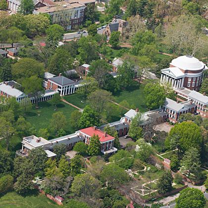 <p>University of Virginia - The Lawn</p>