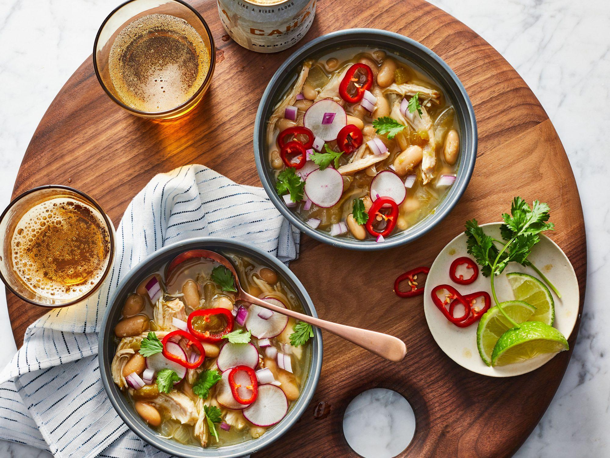 mr - White Bean and Chicken Chili Reshoot
