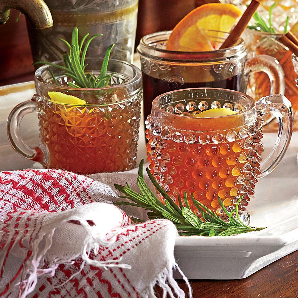 Hot Bourbon-Orange Tea Toddy