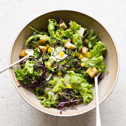 Mustard, Caraway, and Rye Salad Recipe