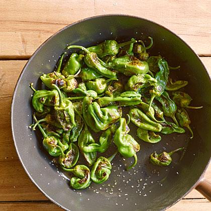 su-Pan-Roasted Padrón Peppers Recipe