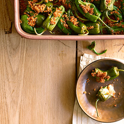Stuffed Padrón Peppers