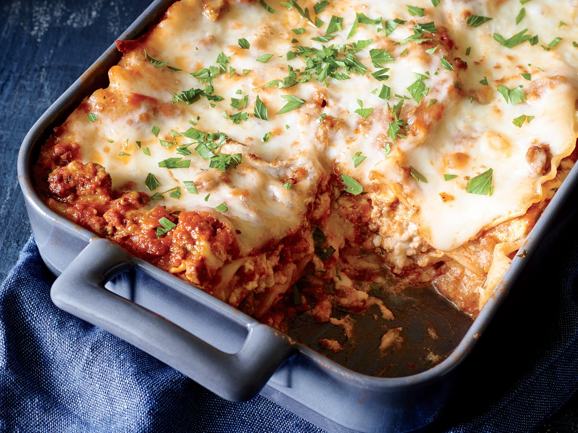 Classic Lasagna With Meat Sauce Recipe Myrecipes Myrecipes