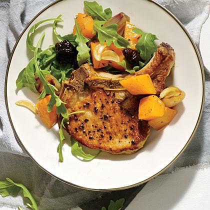 Oven Pork Chop Pan Roast