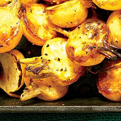 Braised White Turnips