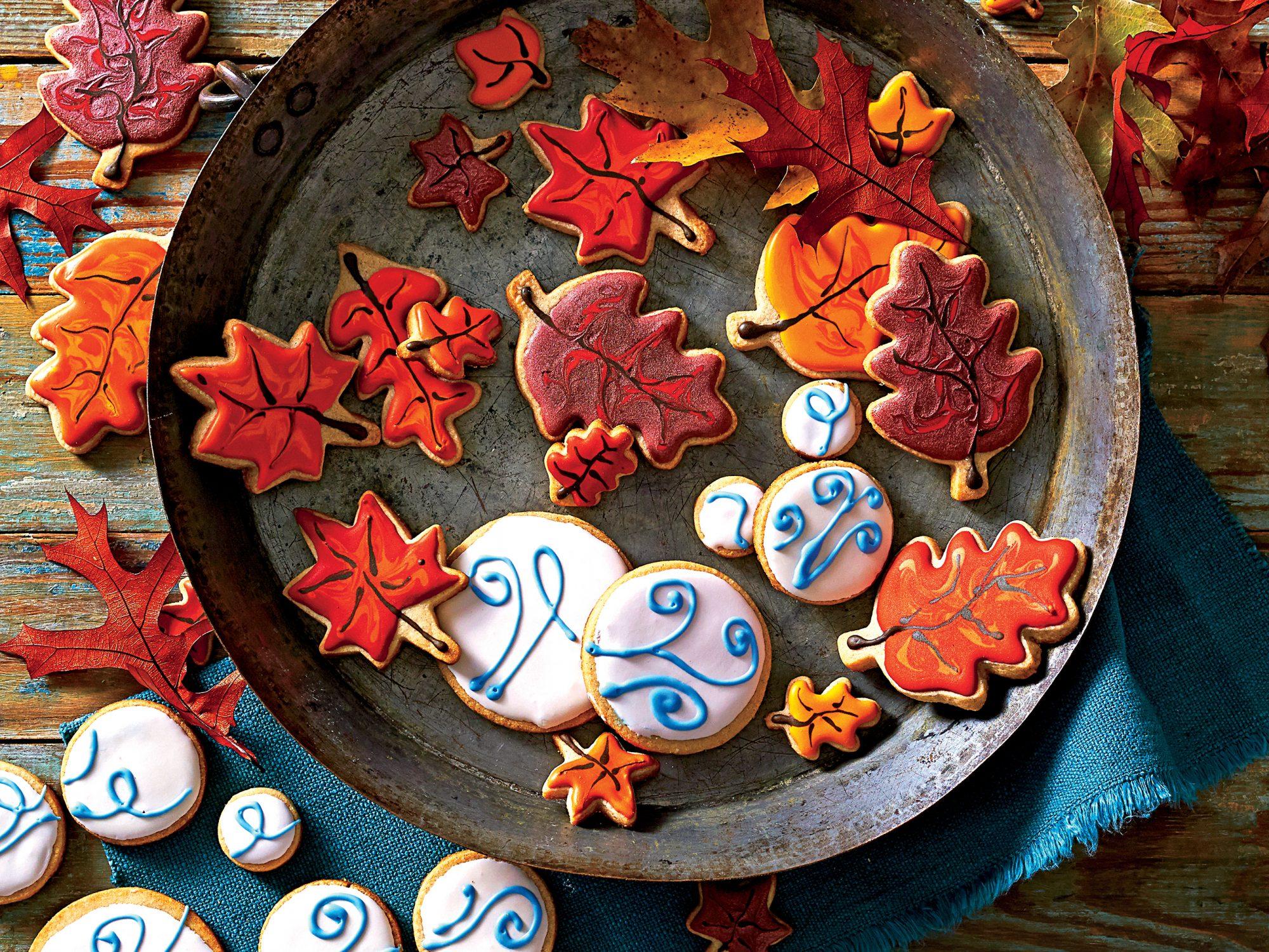Pumpkin Pie Cutout Cookies