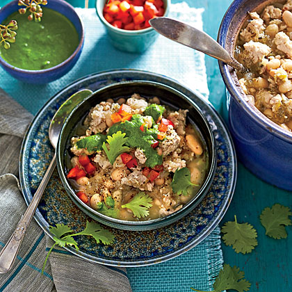 Slow-Cooker Turkey Chili with Quinoa
