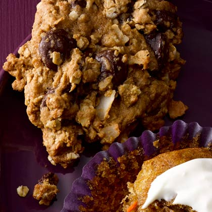 <p>Loaded Oatmeal Cookies</p>