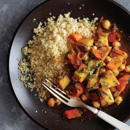 <p>Moroccan Turnip and Chickpea Braise</p>
