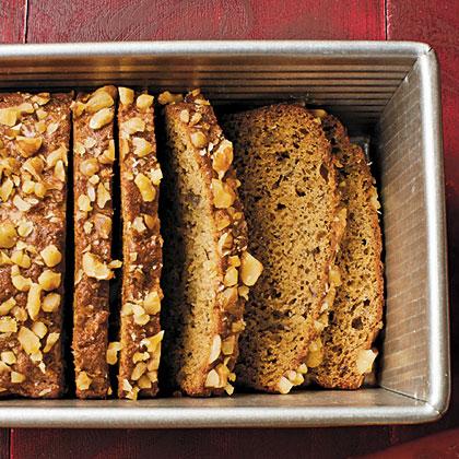 Maple-Walnut-Banana Bread