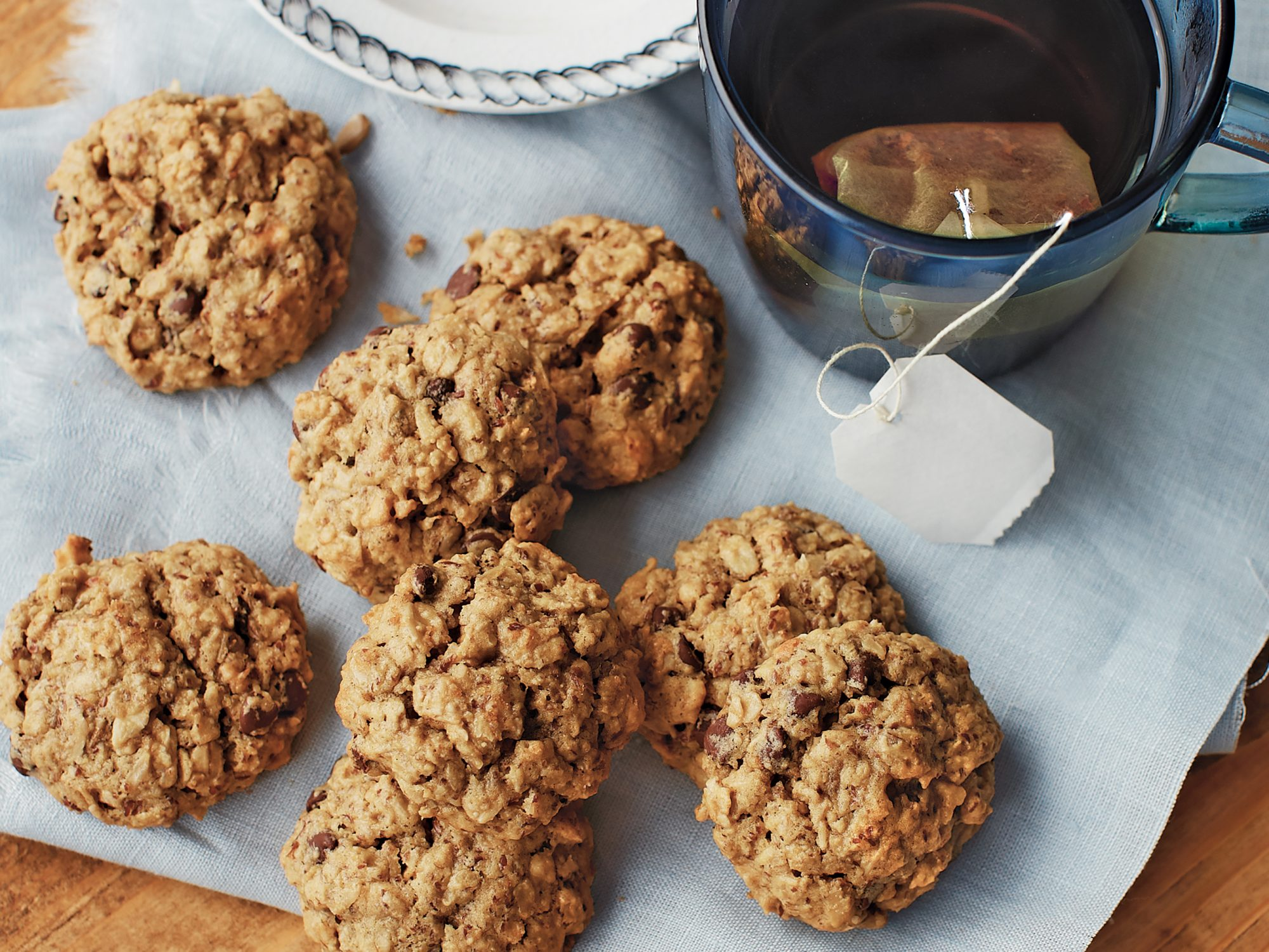 <p>PB, Banana, and Oat Cookies</p>