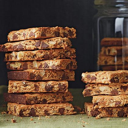 Chocolate-Walnut-Graham Cracker Bars