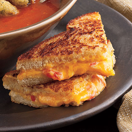 Sandwich School: Grilled Pimiento Cheese
