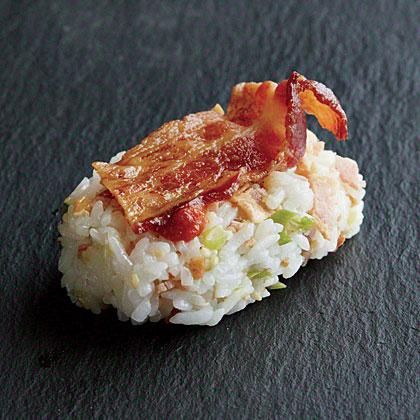Bacon Nigiri