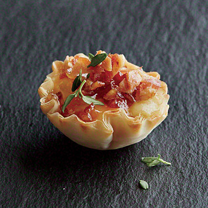Bacon Phyllo Cups Recipe Myrecipes
