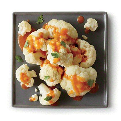 Cauliflower with Coconut Curry Sauce