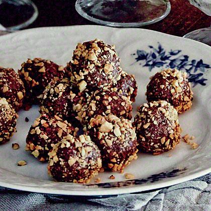 Chocolate Pecan Pie Truffles Recipe | MyRecipes.com