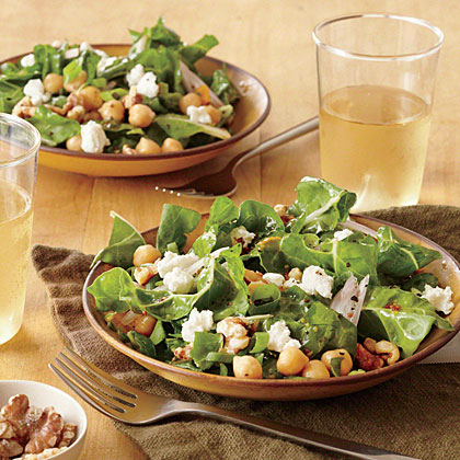 Chopped Chard Salad with Apricot Vinaigrette