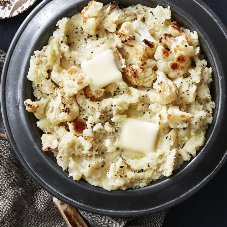 Roasted Cauliflower Mashed Potatoes