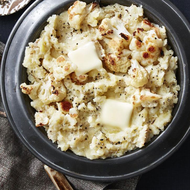 Roasted Cauliflower Mashed Potatoes