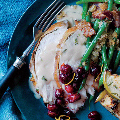 ck-Fennel and Cumin-Roasted Turkey Breast with Thyme Gravy