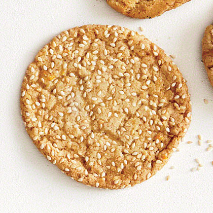 Orange, Sesame, and Honey Cookies Recipe | MyRecipes.com