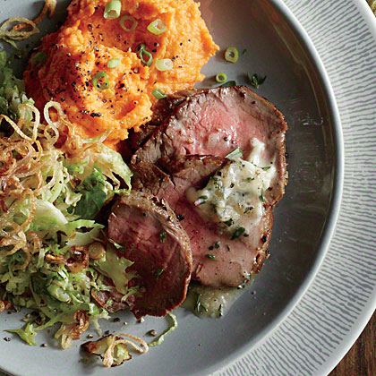 Roast Beef Tenderloin with Cognac Butter