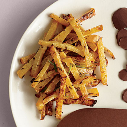 Roasted Rosemary Rutabaga Fries