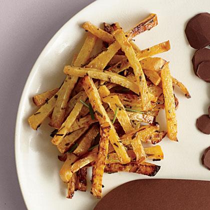 Roasted Rosemary Rutabaga Fries