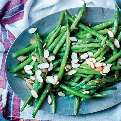Sautéed Green Beans with Miso Butter Recipe | MyRecipes.com