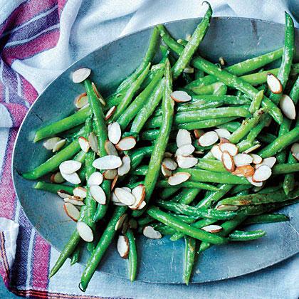 Sautéed Green Beans with Miso Butter Recipe | MyRecipes